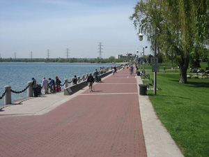 Spencer Smith Park in Burlington, Ontario