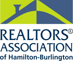 The REALTORS® Association of Hamilton-Burlington (RAHB) logo