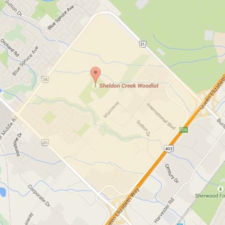 Photo of the Sheldon Creek/Corporate Neighbourhood Map