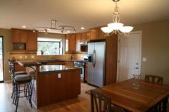 Photo of Staged Kitchen