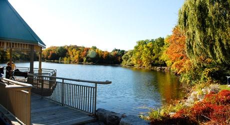 Photo of Mill Pond in Milton, Ontario
