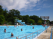 Photo of Burlington's Mountainside Outdoor Community Pool