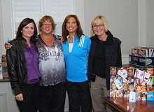 Photo of the RE/MAX Charity Golf Tournament organizers