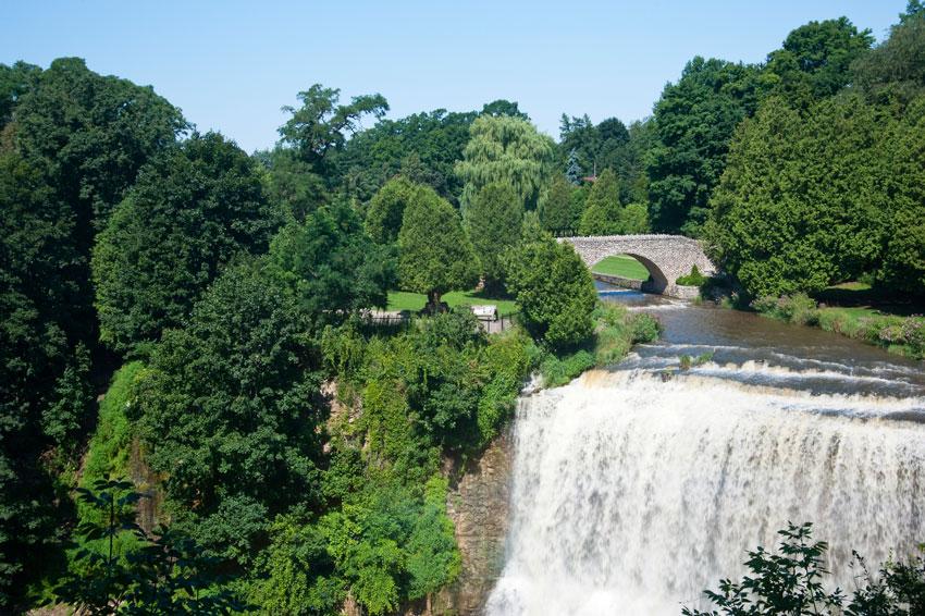 Photo of Webster Falls in Dundas, Ontario