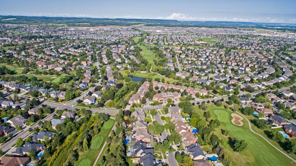 Millcroft neighbourhood in Burlington, Ontario