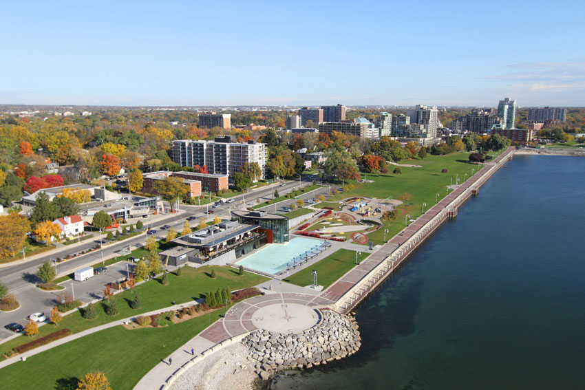 Photo of Downtown Burlington, Ontario