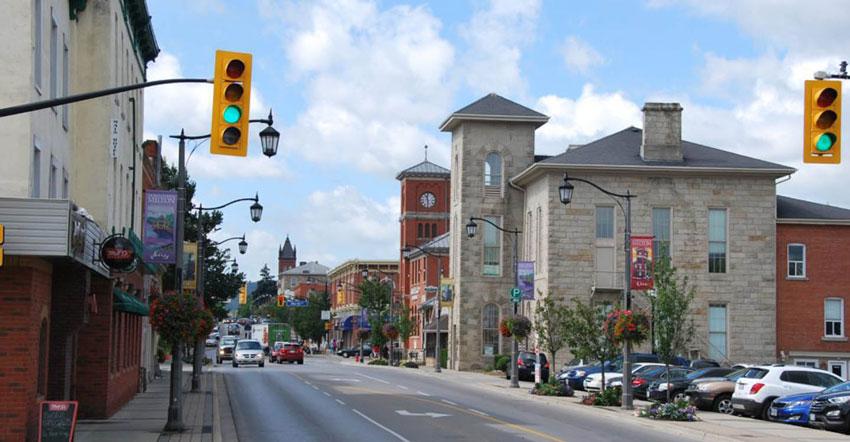 Downtown Milton, Ontario