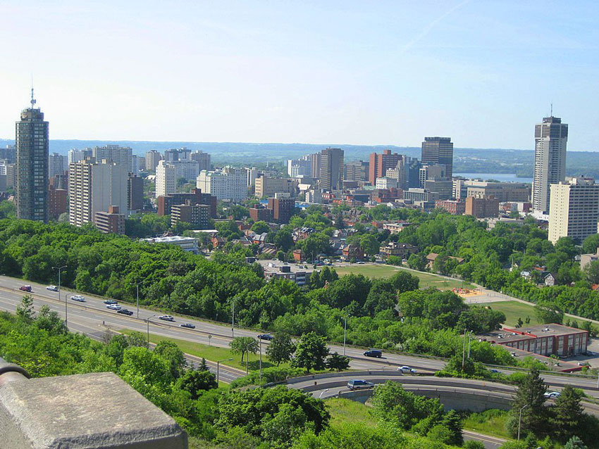 Photo of Skyline of downtown Hamilton