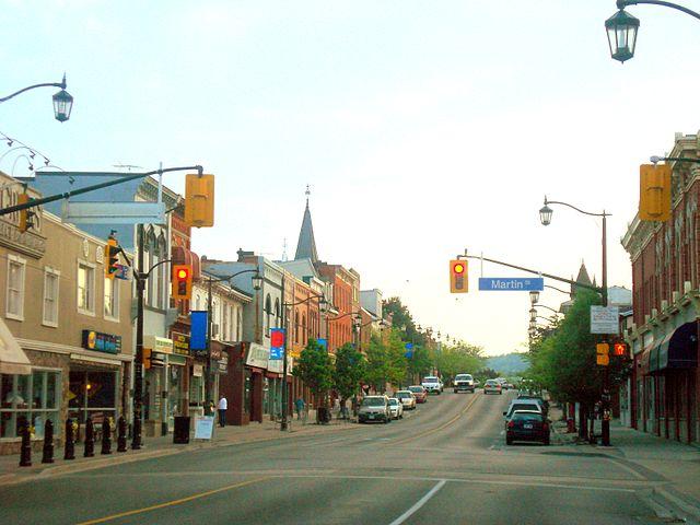 Photo of Main St. Downtown Milton, Ontario