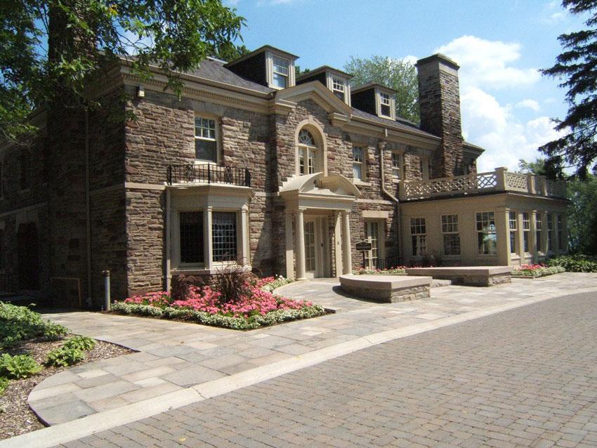 Paletta Lakefront Park and Mansion in Shoreacres area of Burlington, Ontario